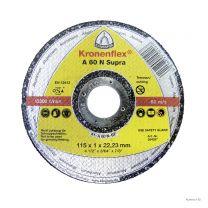 Klingspor Disco de corte Alumínio A 60 N Supra